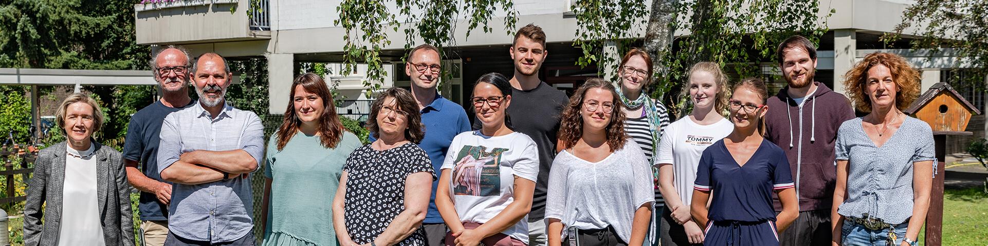 Teamfoto Luise-Maassen-Haus Koeln